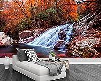 Mznm フォトウォール 3D 壁紙 リビングルーム 滝 風景 3D 壁画 壁紙 ホームインテリア 3D ステレオ 壁紙 Gsavba -53008