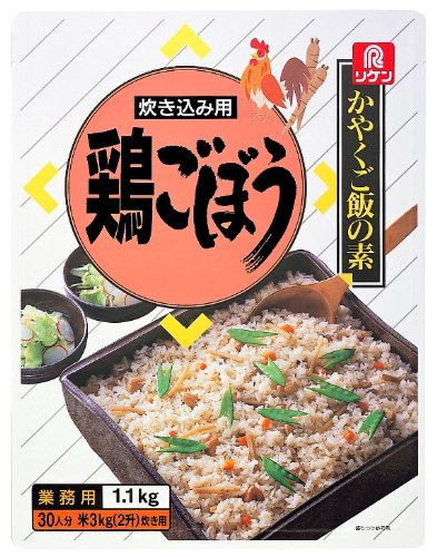 リケン かやくご飯の素 炊き込み用 鶏ごぼう 1.1kg