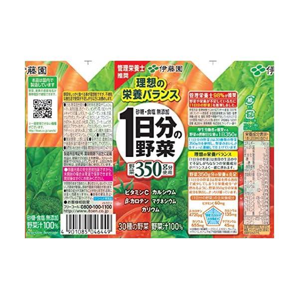 伊藤園 1日分の野菜の紹介画像9