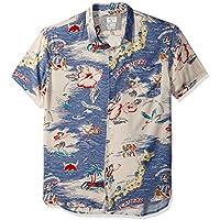 Quiksilver Men's Banzai Camp Button Down Shirt