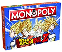 Winning Moves Board Game - Monopoly Dragon Ball Collectors Edition Italian Version, 29896