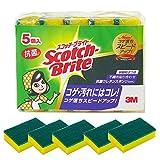 スコッチブライト キッチンスポンジ 抗菌たわしS 5個 S-21KS 5PC