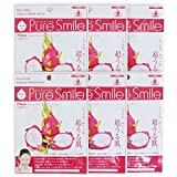Pure Smile ピュアスマイル エッセンスマスク ピタヤ 6枚セット
