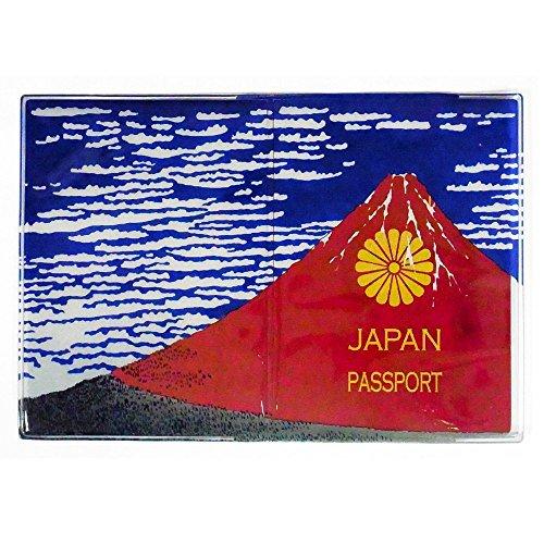 クールジャパンすぎる。10年パスポートを赤富士にしちゃうパスポートカバー