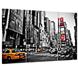 Yesurprise ポスター ニューヨーク タイムズスクエア 壁飾り 絵画 写真 印刷布製 (額縁なし) 40*90cm ( 2pcs ) 60*90cm ( 1pcs )