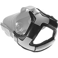 Newzerol For Oculus Quest VR用 カバー 快適さ ヘッドセット レザー クッション 保護カバー 汗染み防止 オキュラス クエスト ブラック