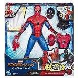 MARVEL マーベル スパイダーマン : ファー・フロム・ホーム/ウェブギア スパイダーマン 13インチフィギュア - サウンドエフェクト他 アクセサリー付き E3567 正規品 画像
