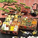 三段重 和風おせち料理 梅柄重箱 お節料理ご予約券【Amazon.co.jp限定】