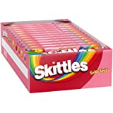 SKITTLES Smoothies Full Size Candy, 1.76oz Bag (Pack of 24)