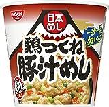 日清日本めし鶏つくね豚汁めし100g×6個