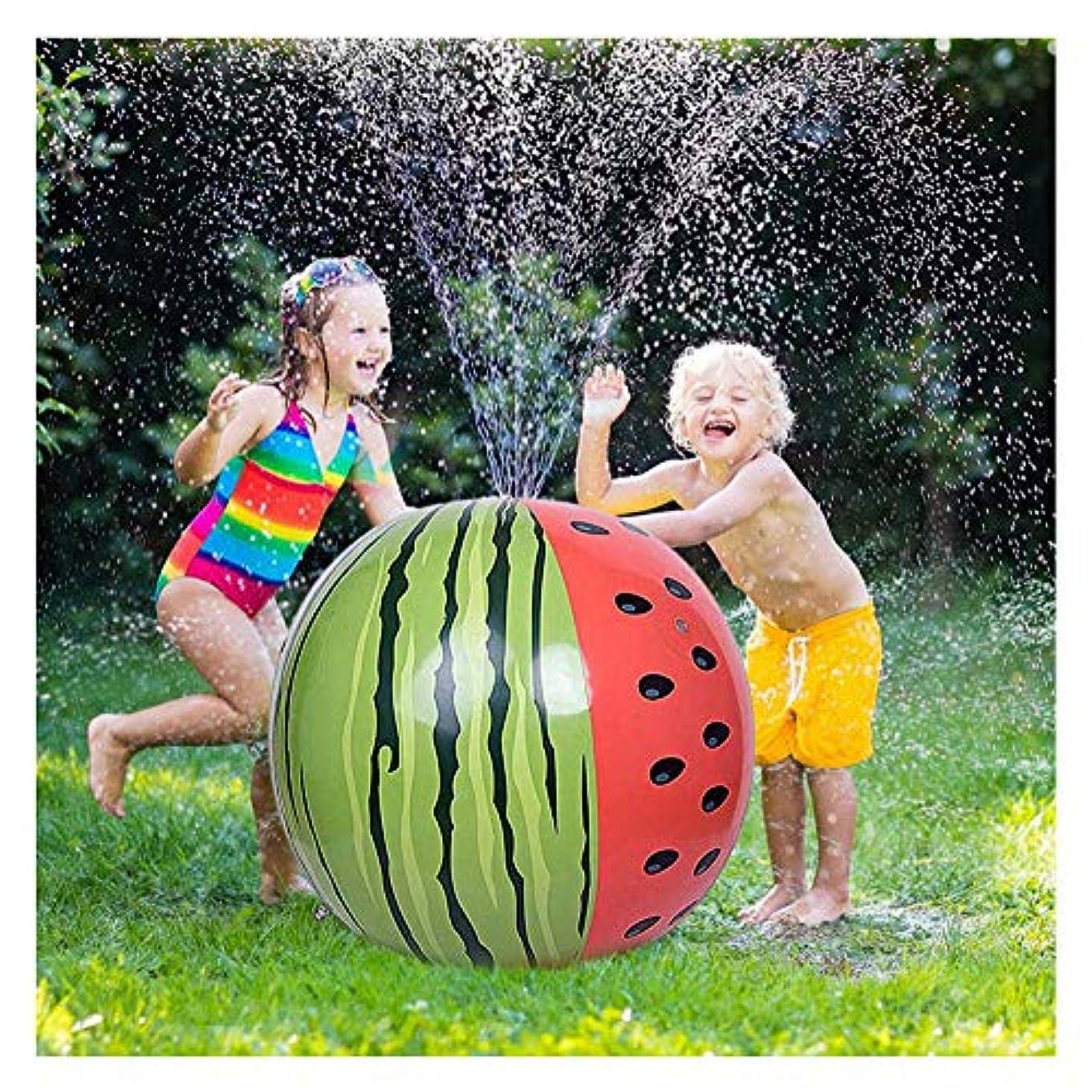 消去拷問有用水は屋外の芝生スプラッシュ用ボール、キッズインフレータブルビーチボールスプリンクラーを、スプレーやおもちゃスプレー