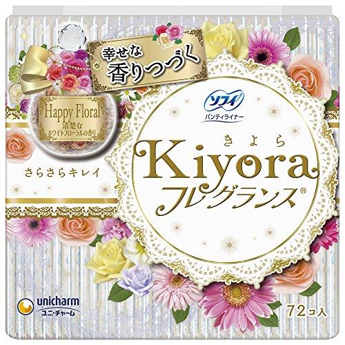 ソフィ Kiyora フレグランス ホワイトフローラルの香り 72枚入