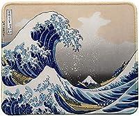 日本画とマウスパッドの絵神奈川の大波、日本アートマウスパッド