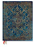 Paperblanks Dayplanners 2017 Azure Ultra Day-at-a-Time 12Months DE3453-7 英語版 正規輸入品