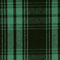 ウール【17310】【柄物】【ウール生地】カラー全4色【50cm単位 切り売り】【チェックツイード】 55 グリーン/ブラック