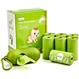 Baby Disposable Diaper Bags, OXO-Biodegradable Waste Bags 8 Refill Rolls/120 Bags with Dispenser, Convenient and Quick Diaper