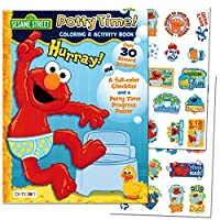 [ベンドンパブリッシング]Bendon Publishing Sesame Street Potty Time Potty Training Coloring and Activity Set With Progress Chart and Reward [並行輸入品]
