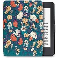 WALNEW Amazon Kindle Paperwhiteカバー キンドルペーパーホワイト専用ケース 最も薄く、最軽量の保護 レザーケース オートスリープ機能付き
