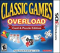 Classic Games Overload: Card & Puzzle Edition - 3DS [並行輸入品]