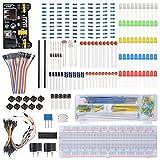 XCSOURCE ブラッドボードケーブル抵抗+コンデンサ+LED+ポテンショメータ Arduino Raspberry Pi 電子部品学習キット TE715