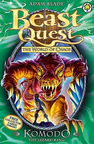 Beast Quest: 31: Komodo the Li...