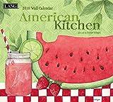 American Kitchen 2018 Calendar (Deluxe Wall)