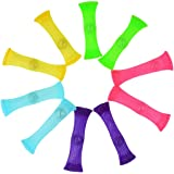FIDGET TOYS(Package of 10 5 colors) Stress Relieve toy Focus Enhance Soothing Marble Fidgets for Children and Adults has help