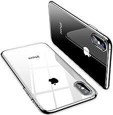 TORRAS iPhone Xs Max ケース 6.5インチ【高品質TPU/全透明/Qi充電対応/黄変防止】薄型 耐衝撃 アイホンxsmaxソフトカバー(クリア)