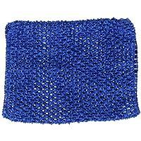 ノーブランド品 2枚 キッズ 女の子 チュチュスカート用 かぎ針編み トップス チューブトップ ウエストバンド ヘッドバンド 伸縮性 5色選べる