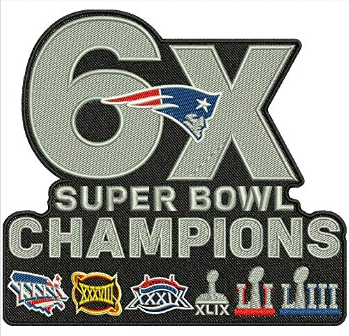 Football 2019 Super Bowl 53 LIII Patriots 6X Champs PATCHPRE Order Item - 出荷開始 2月18日