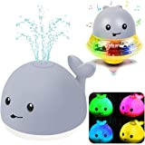 Bath Toys, Bath Toys for Toddlers Water Spray Toys for Kids, Baby Toys Whale Toy Cut Light Up,Bathtub Toys Spray Water Squirt