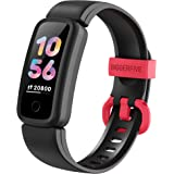 BIGGERFIVE Fitness Tracker Watch for Kids Girls Boys Teens, Activity Tracker, Pedometer, Heart Rate Sleep Monitor, IP68 Water