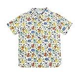 Coralup ボーイズライオンシャツ 80cm ホワイト