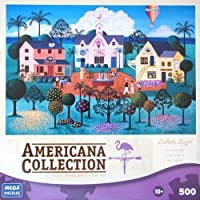 AMERICANA COLLECTION Tropical Delight by Colleen Sgroi 500 Piece Puzzle (19 X 13 Size) by Americana Collection