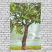 GORIRA(ゴリラ) タペストリー インテリア 壁掛け 和風 おしゃれ 絵画 自然の風景 北欧 森林 パーティー 部屋 窓 トップ飾り 個性 家庭飾り 多機能 装飾用品 約丈203x152cm