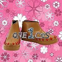 【サイズ選択可】コスプレ靴 ブーツ 12L1593 ファイアーエムブレムif 白夜王国 タクミ 男性25CM