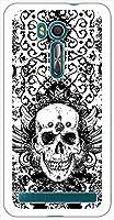 sslink ZenFone Go (ZB551KL) ゼンフォン ハードケース ca1262-1 スカル ドクロ 髑髏 呪術 スマホ ケース スマートフォン カバー カスタム ジャケット ASUS エイスース アスース