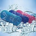 アポロン ひんやり 冷感タオル UVカット 3枚セット 熱中症対策 スポーツタオル 高吸水 冷却タオル 軽量で持ち運びにも便利 (スカイ・ブルー・ピンク)