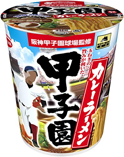 エースコック 阪神甲子園球場監修 甲子園カレーラーメン 60g×12個