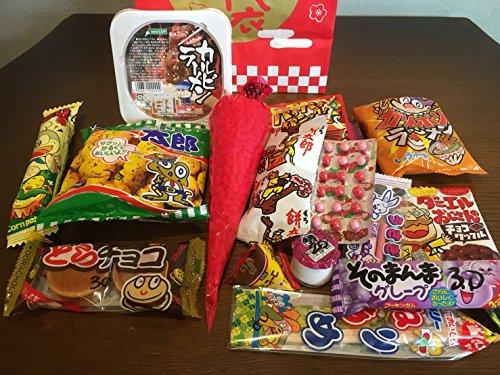 福袋 駄菓子屋さんのお菓子詰め合わせ(プレゼントに最適)...