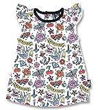 シックスバニーズ SIX BUNNIES ロンパース ドレス CUTE FLASH ベビー服 (0-3ヶ月 身長 ~60cm 着丈34.5cm 身幅24cm 肩幅16.5cm)