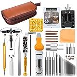 E·Durable 腕時計工具 腕時計修理工具セット 電池交換 ベルト交換 バンドサイズ調整 時計修理ツール バネ外し…