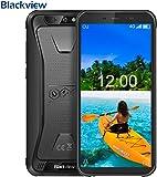 Blackview BV5500 PRO,SIMフリースマートフォン本體- Android 9.0,5.5インチ HD 全畫面 18:9ディスプレイ,3GB RAM + 16GB ROM,IP68 防塵 防水 耐衝撃 アウトドア 攜帯電話本體 デュアルSIM(Nano) MT6739V クアッドコア 8MP SONY リアデュアルカメラ,5MP フロントカメラ 顔認証 指紋認識 4400mAh大容量 GPS OTG NFC コンパス LED懐中電燈【一年保証】(黒) [並行輸入品]