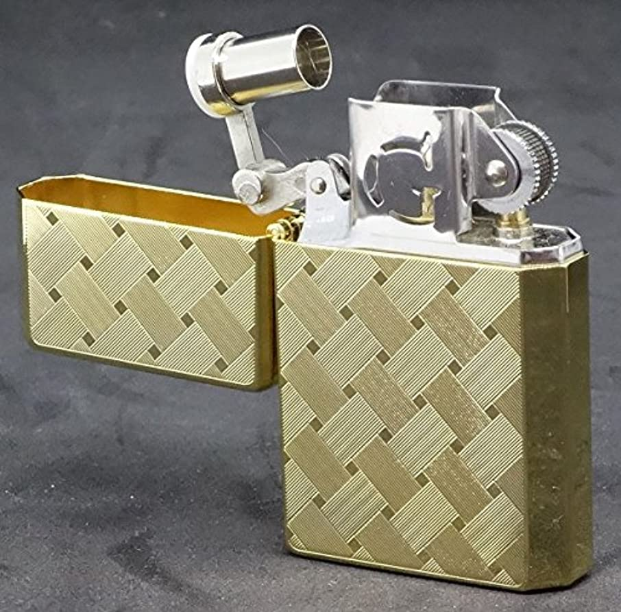 アーサーコナンドイル故障他の場所GEAR TOP (ギア トップ) 日本製 オイルライター ゴールド 限定生産品