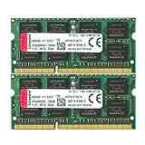 キングストン ノートPC メモリ DDR3L 1600 (PC3L-12800) 8GB×2枚 CL11 1.35V Non-ECC SO-DIMM 204pin KVR16LS11K2/16 永久保証
