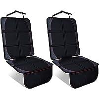 NEXSIABABY チャイルドシート 保護マット 滑り止め 収納ポケット付き 車座席保護シート (600d素材,保護マ…