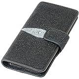スティングレイ iPhoneX iPhone7 iphone8 手帳型 レザーケース スマホケース エイ革 携帯カバー 携帯ケース