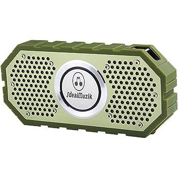 Kuli 防水Bluetooth スピーカー 高音質 耐衝撃 ワイヤレスステレオスピーカー ポータブル マイク搭載通話可能 ブルートゥース スピーカー スマートホン/タブレット/PC など対応 お風呂/アウトドア対応 8時間連続再生