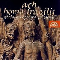 Ach,Homo Fragilis/[ああ、人間の儚さよ‾中世チェコの抒情詩的性格をもつ世俗声楽曲集」