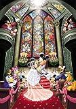 1000ピース ジグソーパズル ディズニー ステンドアート ファンタジー セレブレーション(51.2x73.7cm)